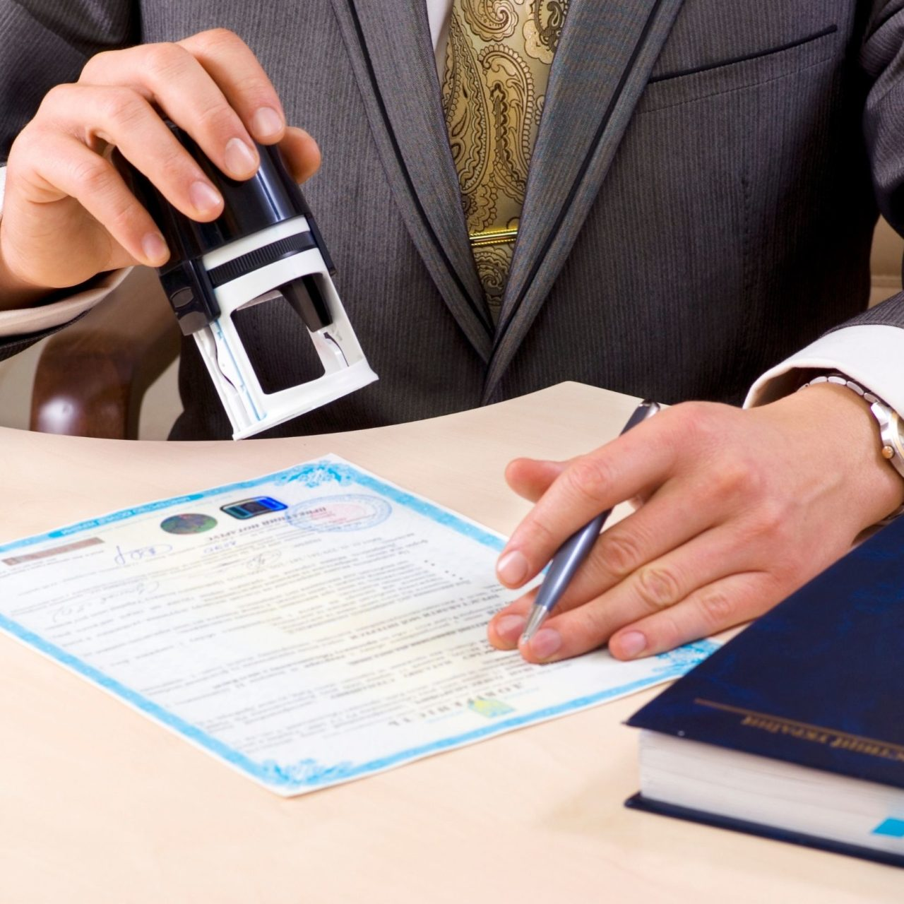 Remote Online Notary Service